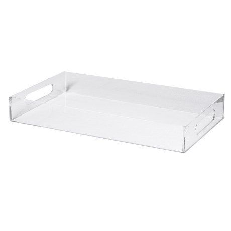 RECTANGLE PERSPEX TRAY