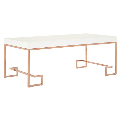 LUXE Allure Coffee Table Rose Gold