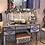 Thumbnail: MIRRORED MOROCCAN 5 DRAWER CONSOLE TABLE