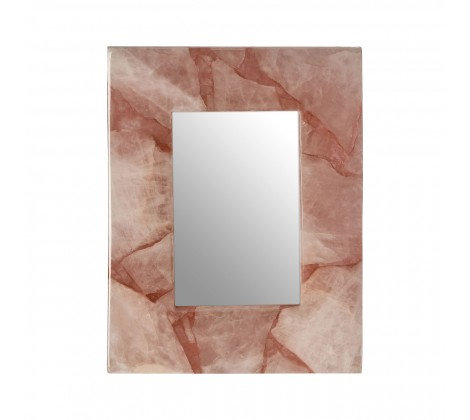 ROSE QUARTZ PHOTO FRAME SMALL