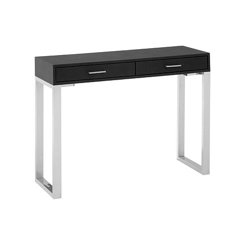 LUXE Pacific Black Faux Shark Skin Coffee Table