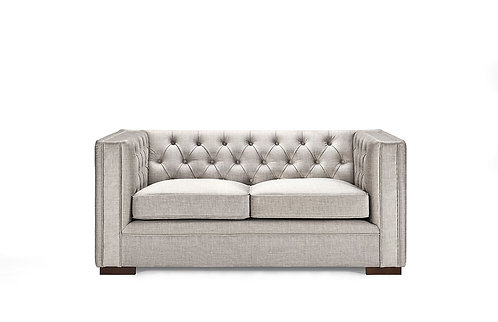MORELLI 2 SEATER SOFA PEBBLE GREY
