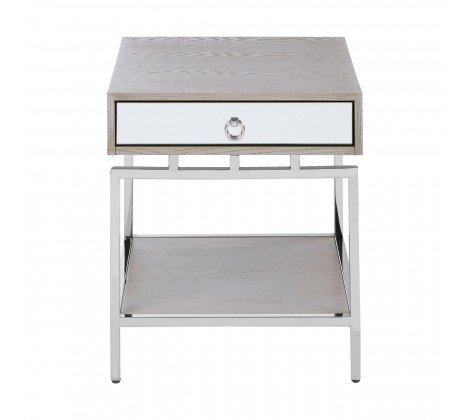 KENSINGTON TOWNHOUSE SILVER SIDE TABLE