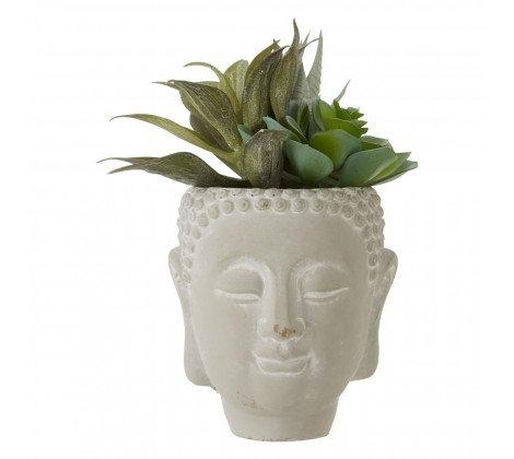 BUDDHA POT WITH GREENERY