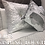 Thumbnail: LARGE WHITE AND SILVER MERMAID CUSHION