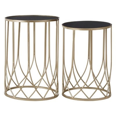 LUXE Avantis Metal Tables