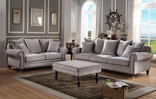 KNIGHTSBRIDGE 3+2 SEATER WITH FOOTSTOOL colour options