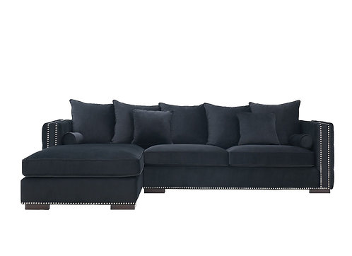 MAYFAIR CORNER SOFA BLACK