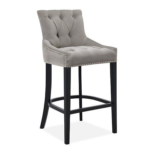 CINDY SILVER BAR STOOL