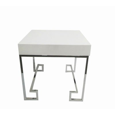 LUXE Allure End Table Silver