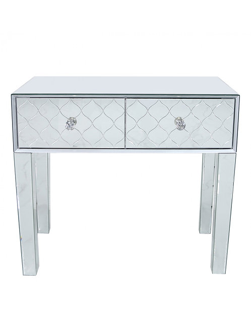 Tiffany Mirror Console Table