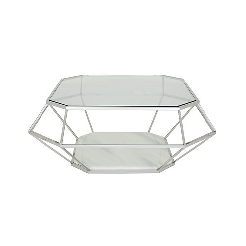 Iris Coffee Table Silver