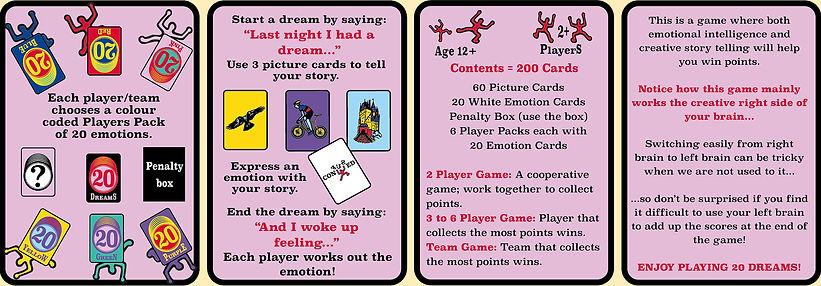 20 Dreams Rules