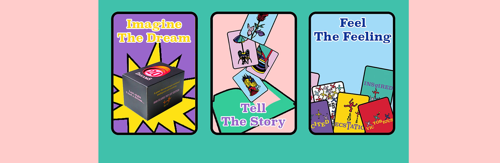 20 Dreams Storytelling Card Game