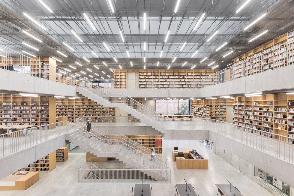 KAAN Architecten - Utopia Library
