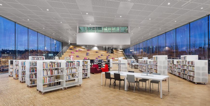 OMA - Bibliothèque Alexis de Tocqueville
