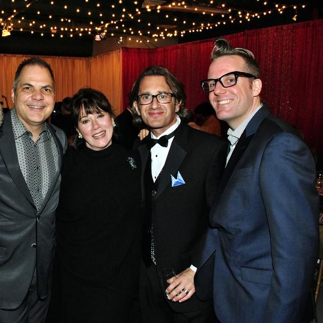 With Kenny Alhadeff, Maria Ferrer, David