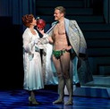 Carolee Carmello and Ed Watts in Scandalous