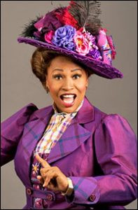 Jenifer Lewis in HELLO, DOLLY! at The 5th Avenue Theatre directed by David Armstrong
