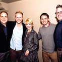 David with Pasek & Paul, Bernie Griffin and Bill Berry