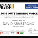 Puget Sound Business Journal Outstanding