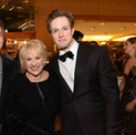 David Armstrong with Lorna Luft and Matt Owen at opening night of HOLIDAY INN the musical at The 5th Avenue Theatre
