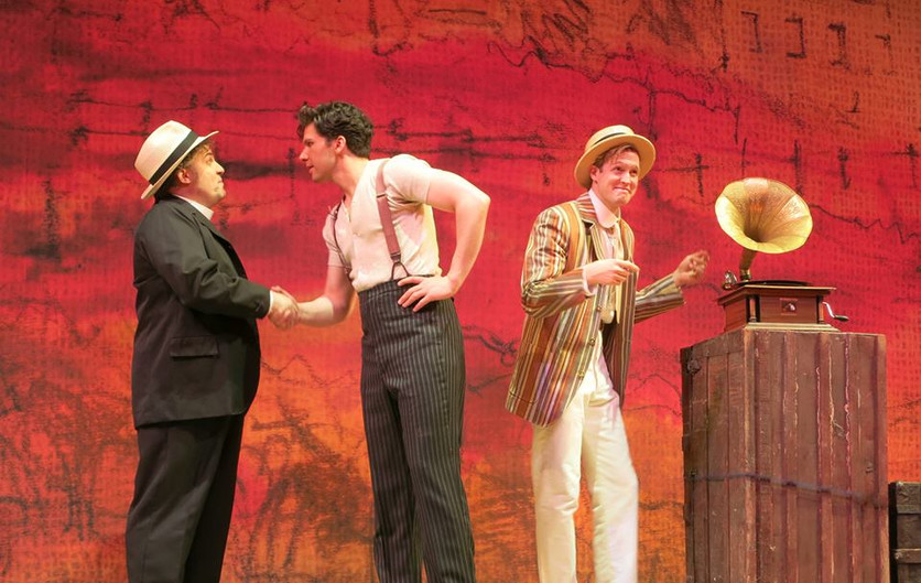 Rich Gray, Louis Hobson and Matt Owen