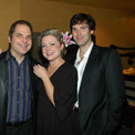 David Armstrong with Dan Levine, Kendra Kassebaum and Hugh Panaro at opening of COMPANY at the 5th Avenue Theatre