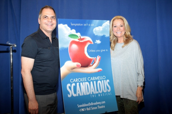David Armstrong with Kathie Lee Gifford