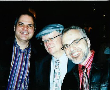 David Armstrong with Albert Evans and  James Rocco