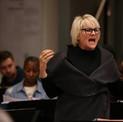 Lorna Luft in rehearsal