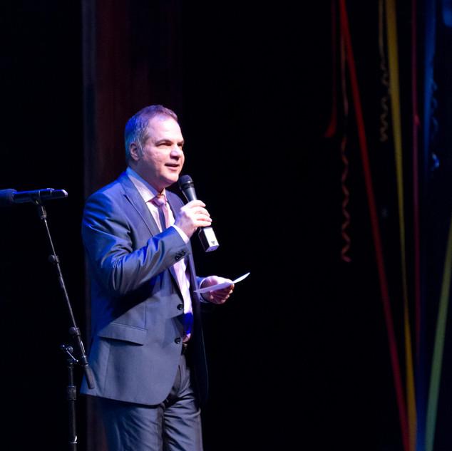 David Armstrong at 5th Avenue Theatre Season Spotlight event
