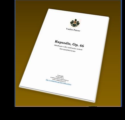 Rapsodie Op. 66
