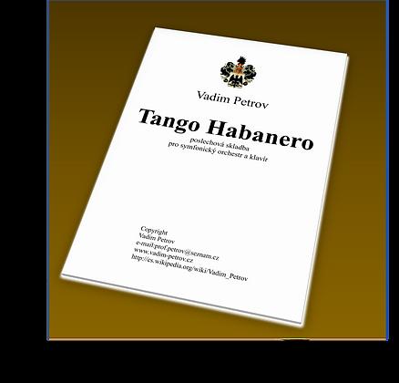 Tango Habanero Op. 84