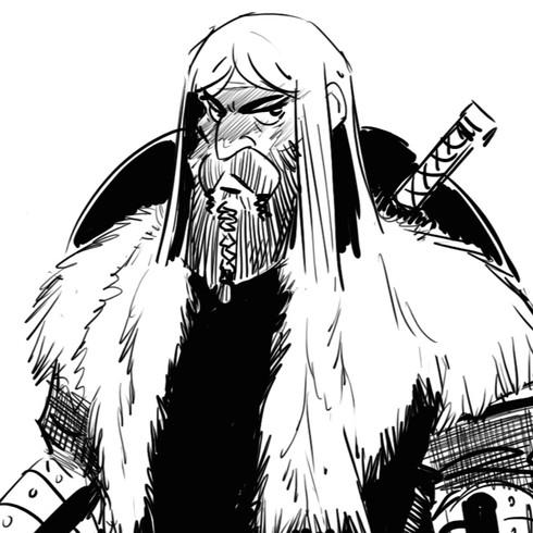 A Viking Saga by Maurits Valk