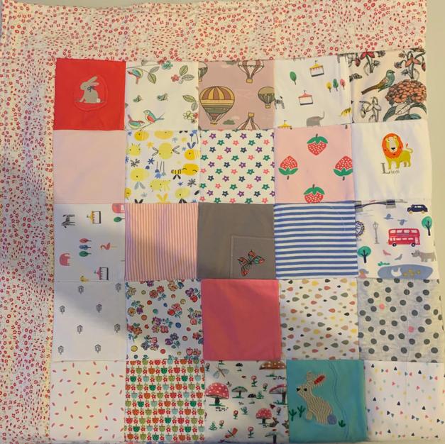 Babygro quilt