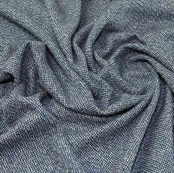 Tweed wool blend - teal