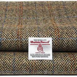 Harris tweed, 100% wool