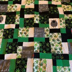 Hemp, Friends & sheep quilt