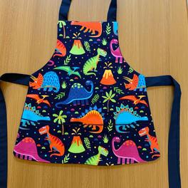 dinosaur apron with hidden pockets