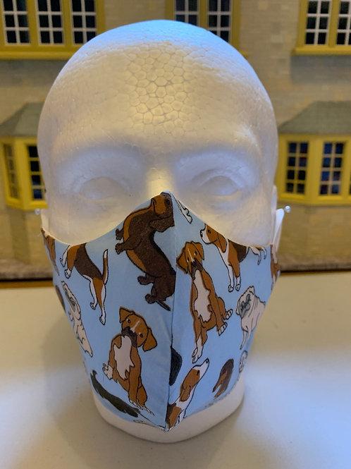 Animal print face masks