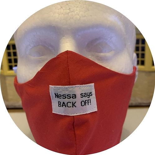 Nessa Says label