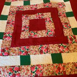 Roses quilt