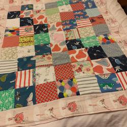 Toddler dress quilt