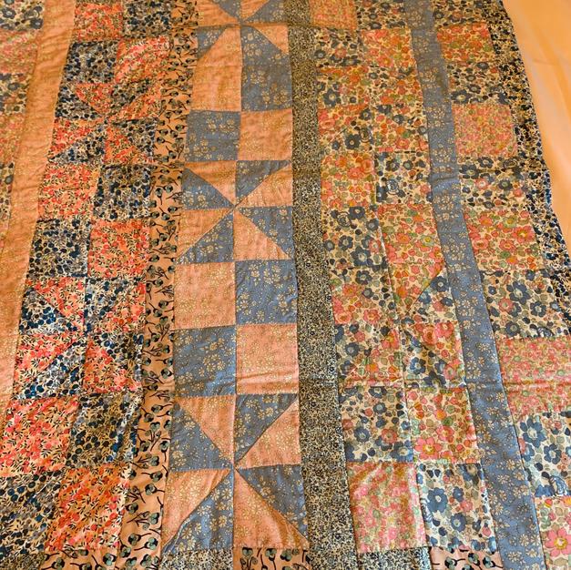 Liberty prints quilt