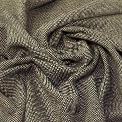 Tweed wool blend - brown