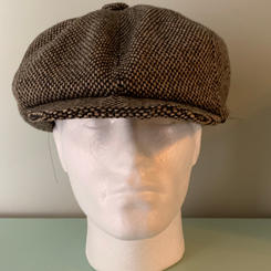 Brown tweed classic style