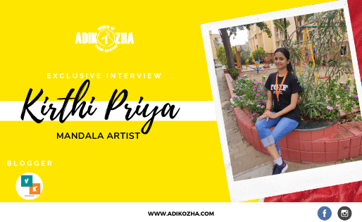PASSIONATE MANADALA ARTIST -Kirthi Priya