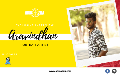 ARAVINDHAN - THE PORTRAIT ARTIST