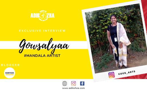 Gowsalyaa - The mandala artist